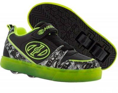 Роликовые кроссовки Heelys Boom X2 Lighted HE100152 Black/Yellow/Grey Lighted