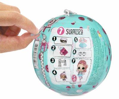 Игровой набор с куклой L.O.L. Surprise! серии Holiday Новогодний лук (572329)