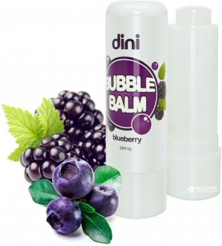 Гигиеническая помада Dini Bubble Balm Черника 4.5 г (4823083003463)