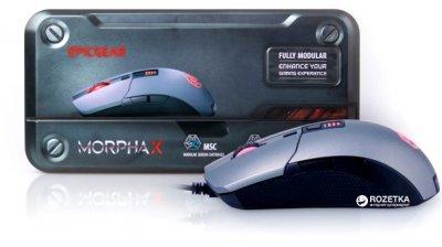 Мышь EpicGear MorphaX USB Grey/White