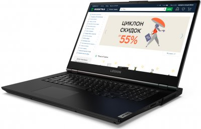 Ноутбук Lenovo Legion 5 17ARH05H (82GN002JRA) Phantom Black