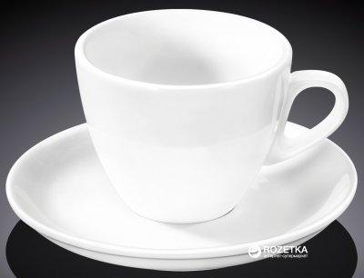 Чашка чайная с блюдцем Wilmax 300 мл (WL-993176)