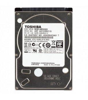 Жорсткий диск Toshiba 320GB 5400rpm 8MB MQ01ABD032V 2.5 SATA II Refurbished