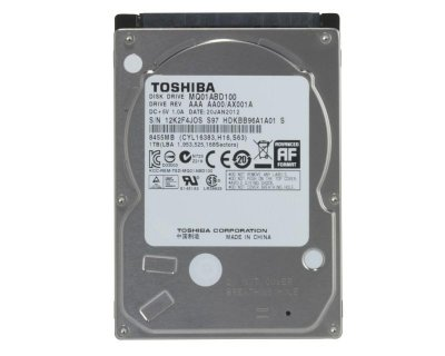 "Жорсткий диск Toshiba 1TB 5400rpm 8MB MQ01ABD100 2.5"" SATAII Refurbished"
