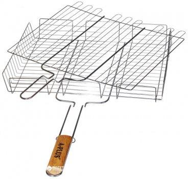 Решетка-гриль с высоким бортом А-Плюс 40 x 32 x 7.5 см (1895_a_plus)