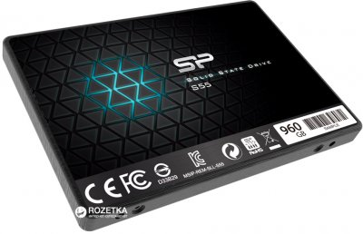 "Silicon Power Slim S55 960GB 2.5"" SATAIII TLC (SP960GBSS3S55S27)"
