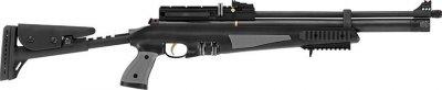 Пневматична гвинтівка Hatsan AT44-10 Tact Long з насосом Hatsan попередня накачування 355 м/с