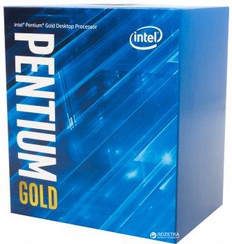 Процесор Intel Pentium Gold G5400 3.7GHz / 8GT / s / 4MB (BX80684G5400) s1151 BOX