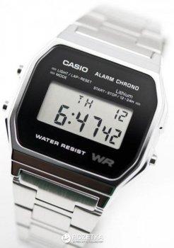 Чоловічий годинник CASIO A158WEA-1EF