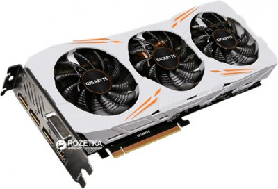 Gigabyte PCI-Ex GeForce GTX 1080 Ti Gaming OC 11GB GDDR5X (352bit) (1518/11010) (DVI, HDMI, 3 x Display Port) (GV-N108TGAMING OC-11G)