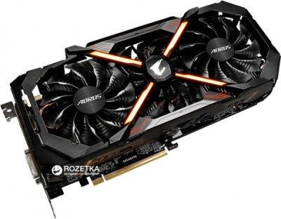 Gigabyte PCI-Ex GeForce GTX 1080 Ti Aorus Xtreme Edition 11GB GDDR5X (352bit) (1607/11232) (DVI, 3 x HDMI, 3 x Display Port) (GV-N108TAORUS X-11GD)