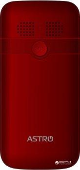 Мобільний телефон Astro A185 Red
