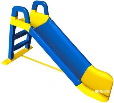 Горка Active Baby детская Сине-желтая 140 см (01-0140/0301) (4822003280137)