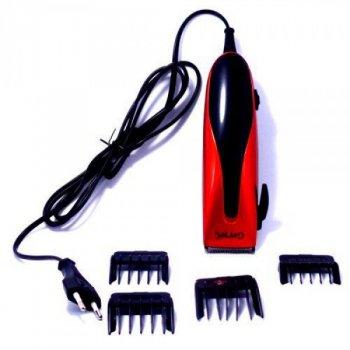 Машинка для стрижки волос проводная Gemei Professional GM-1012 Черная (10003)