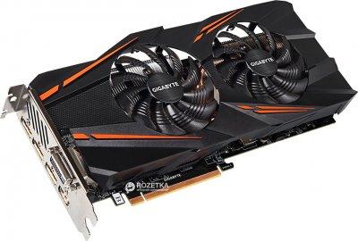 Gigabyte PCI-Ex GeForce GTX 1070 Windforce OC 8GB GDDR5 (256bit) (1556/8008) (DVI, HDMI, 3 x DisplayPort) (GV-N1070WF2OC-8GD)