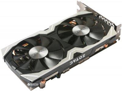 Zotac PCI-Ex GeForce GTX 1060 AMP Edition 6GB GDDR5 (192bit) (1556/8000) (DVI, HDMI, 3 x DisplayPort) (ZT-P10600B-10M)