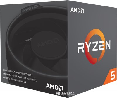 Процесор AMD Ryzen 5 2600X 3.6GHz/16MB (YD260XBCAFBOX) sAM4 BOX
