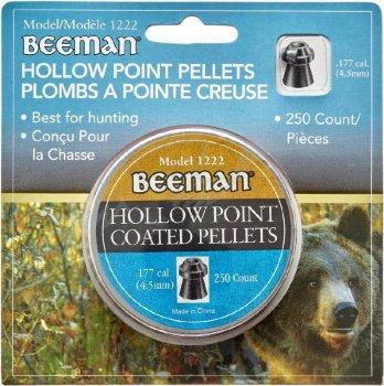 Кулі пневматичні (для воздушки) 4,5 мм 0,47 г (250шт) Beeman Hollow Point. 14290626