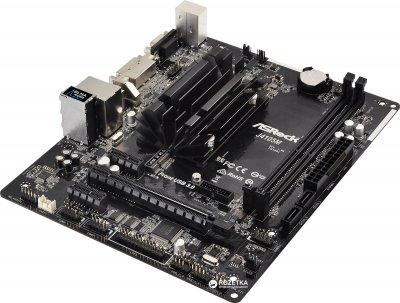 Материнська плата ASRock J4105M (Intel Celeron J4105, SoC, PCI-Ex16)