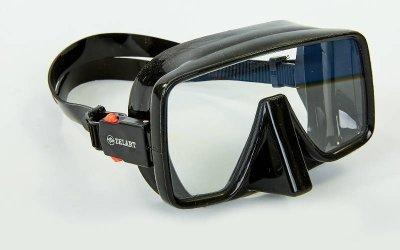 Набор для плавания маска с трубкой Zelart M109-SN50-4-SIL черный
