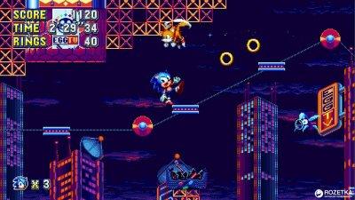 Sonic Mania Plus. Коллекционное издание (PS4, английская версия)