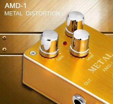 Педаль эффектов Aroma AMD-1 Metal Distortion