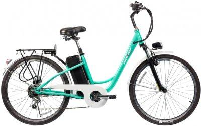 Електровелосипед Maxxter City Світло-синій