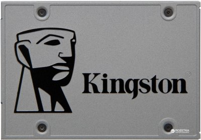 "Kingston SSD UV500 480GB 2.5"" SATAIII 3D NAND TLC (SUV500/480G)"