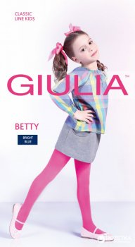 Колготки Giulia Betty 80 80 Den 128-134 см Bright Blue (4820040232157)