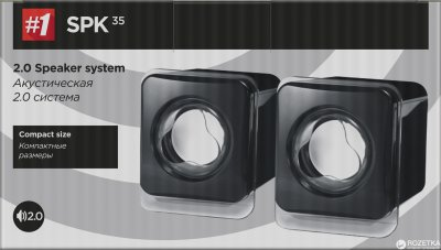 Акустична система Defender SPK 35 Black (65635)