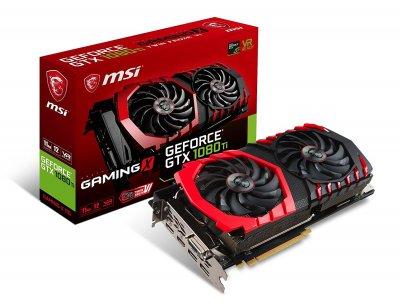 MSI PCI-Ex GeForce GTX 1080 Ti Gaming X 11GB GDDR5X