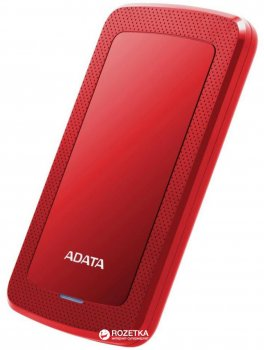 Жорсткий диск ADATA DashDrive HV300 1TB AHV300-1TU31-CRD 2.5 USB 3.1 External Slim Red