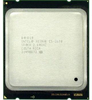 Процесор Intel Xeon E5 2670 (BX80621E52670), б/у