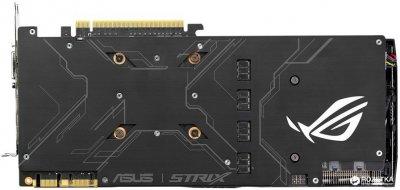Asus PCI-Ex GeForce GTX 1080 ROG Strix 8GB GDDR5X (256bit) (1670/10010) (DVI, 2 x HDMI, 2 x DisplayPort) (STRIX-GTX1080-A8G)