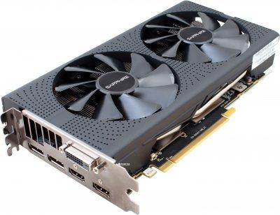Sapphire PCI-Ex Radeon RX 570 Pulse 8GB GDDR5 (256bit) (1284/7000) (DVI, 2 x HDMI, 2 x DisplayPort) (11266-36)