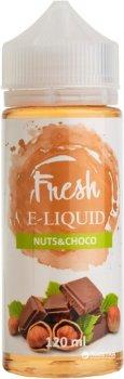 Рідина для електронних сигарет Fresh Nuts&Choco (Лісовий горіх + шоколад)