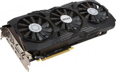MSI PCI-Ex GeForce GTX 1080 Duke OC 8GB GDDR5X (256bit) (1708/10108) (DVI, HDMI, 3 x DisplayPort) (GTX 1080 DUKE 8G OC)