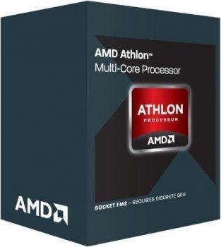 Процесор Athlon II X4 840 (Socket FM2+) BOX (AD840XYBJABOX)