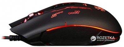 Миша Bloody Q80B Gunfire USB Black (4711421933223)