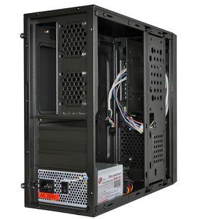 Корпус ProLogix M03/031B Black PSMS-400-8cm; MicroATX/ITX, 1 hdd, 2 sata