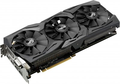 Asus PCI-Ex GeForce GTX 1060 ROG Strix 6GB GDDR5 (192bit) (1620/8208) (DVI, 2 x HDMI, 2 x DisplayPort) (STRIX-GTX1060-O6G-GAMING)