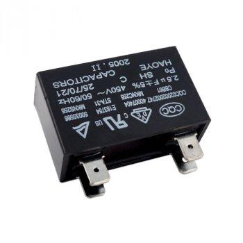 Конденсатор кондиціонера для 2.5 uF 450V CBB61 (4 клеми)