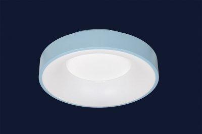 Плоский Стельовий Світильник З Пультом 36Вт Levistella 752L57 Blue Синій