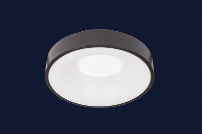 Плоский Стельовий Світильник З Пультом 32Вт Levistella 752L56 Bk Чорний