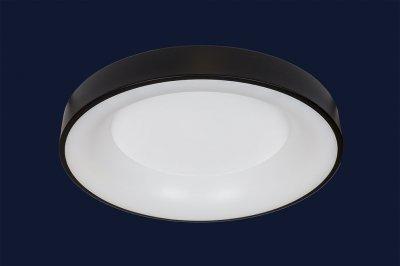Плоский Стельовий Світильник З Пультом 52Вт Levistella 752L58 Bk Чорний