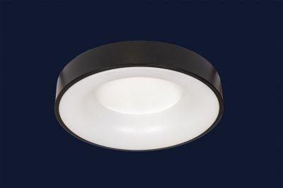 Плоский Стельовий Світильник З Пультом 36Вт Levistella 752L57 Bk Чорний