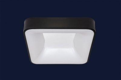Плоский Стельовий Світильник З Пультом 52Вт Levistella 752L61 Bk Чорний