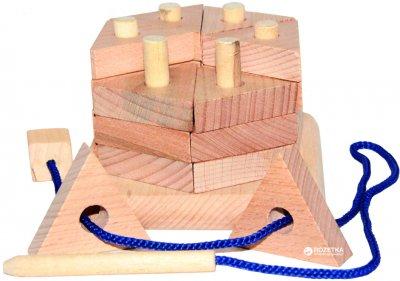 Пирамидка Руді Тортик некрашеный (Д025н) (4820011906391)