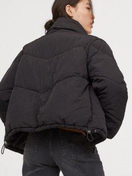 Куртка H&M 0721268-0 Черная