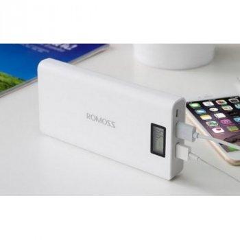 Power Bank Romoss LCD 50000mAh Sense 6 PLUS 2USB з екраном